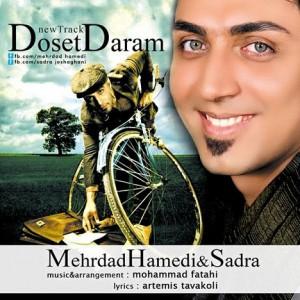 دانلود آهنگ جدید مهرداد حامدی و صدرا با نام دوست دارم