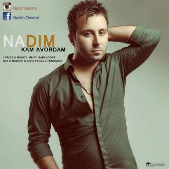 Nadim Kam Avordam دانلود آهنگ جدید ندیم به نام کم آوردم