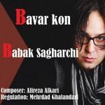 Sagharchii 150x150 - دانلود آهنگ جدید بابک ساغرچی به نام باور کن