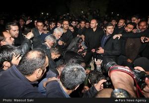 عکسهای دفن شبانه مرتضی پاشایی
